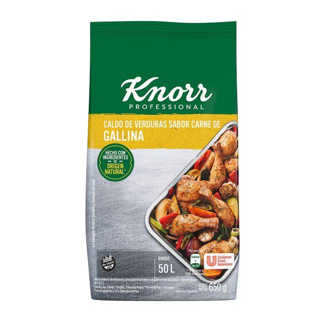 Caldo Granulado Sabor Gallina Knorr 6X650G -
