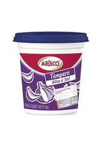 Condimento a base de sal y ajo Arisco 1 KG (Exclusivo Paraguay) -