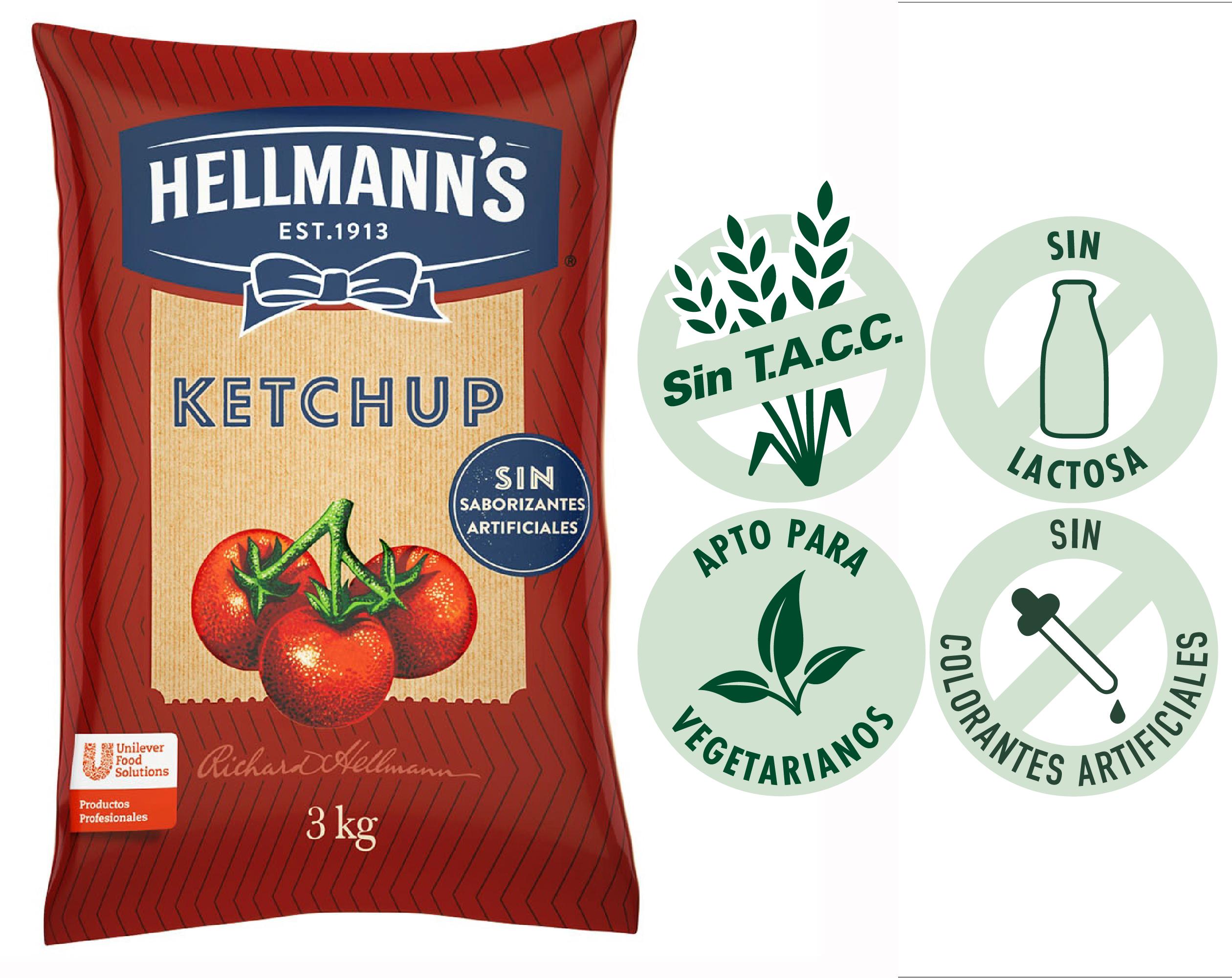 Ketchup Hellmann's 3KG