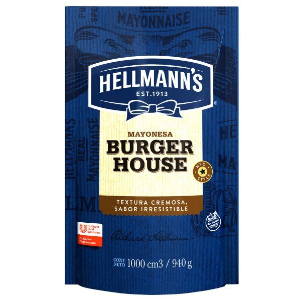 Mayonesa Burger House Hellmann's 940G -