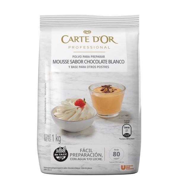 Mousse de Chocolate Blanco Carte D'or 6x1 kg -
