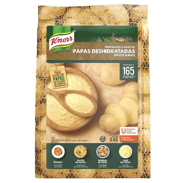 Escamas de Papas Deshidratadas Knorr 5 kg