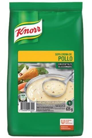 Sopa Crema de Pollo Knorr 635 G (Exclusivo de Argentina, Uruguay) -