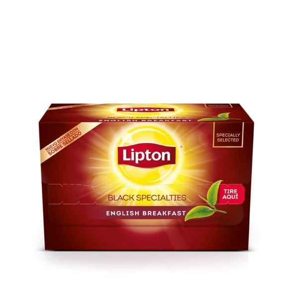 Té English Breakfast Lipton 20 BLS (Exclusivo de Argentina) -
