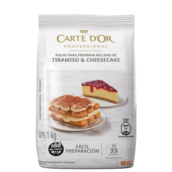 Tiramisú & Cheesecake Carte D'or 6X1KG -